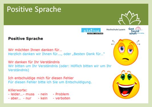 Positive Sprache